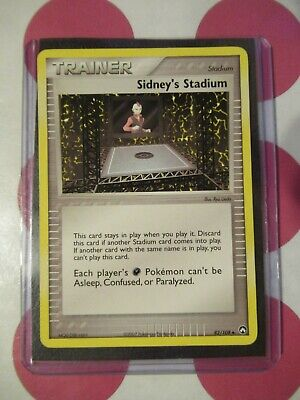 Pokemon Sidney's Stadium 82/108 Ex Power Keepers Uncommon *combined shipping*
