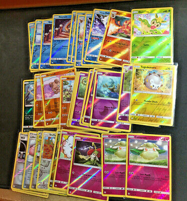2019 Pokemon Sun and Moon - Cosmic Eclipse Foil Reverse Holos (Pick Your Cards)