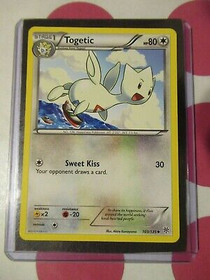 Pokemon Togetic 103/135 Plasma Storm Uncommon NM *combined shipping*