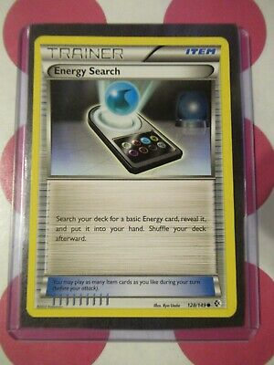 Pokemon Energy Search 128/149 Boundaries Crossed Common *combined shipping*