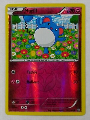 Marill  102/160  X&Y: Primal Clash  ((Reverse Holo))  NM/Mint  Pokemon