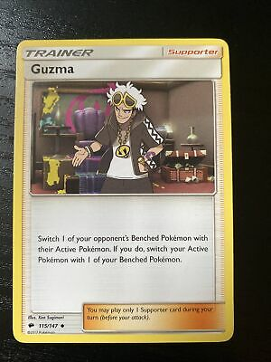 Pokemon Burning Shadows - Guzma - 115/147 Uncommon M/NM