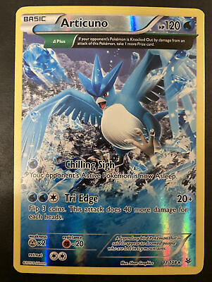 Pokemon Roaring Skies Articuno Holo 17/108 Near Mint NM