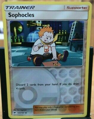 Pokemon Sophocles - Sun & Moon Burning Shadows 123/147 Uncommon *