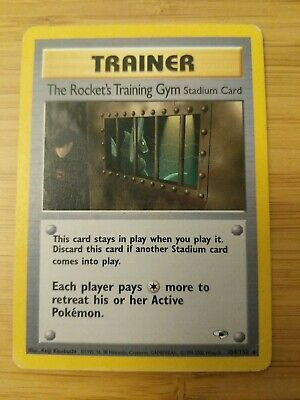 104/132 The Rocket's Training Gym Gym Heroes Pokemon Card