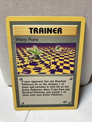 WARP POINT - Gym Challenge - 126/132 - Common - Trainer - Pokemon Card - NM
