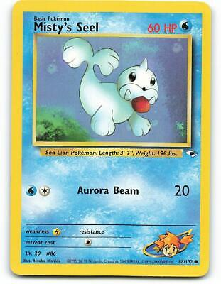 88/132 | Misty's Seel | Gym Heroes | Pokemon Card | NM - Mint