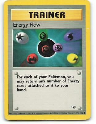 122/132 | Energy Flow | Gym Heroes | Pokemon Card | Light Played