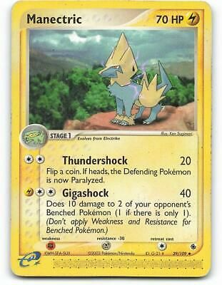 39/109 | Manectric | EX Ruby Sapphire | Pokemon Card | Played