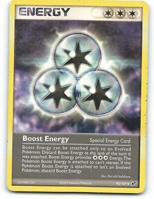 93/107   Boost Energy   EX Deoxys   Pokemon Card   Light Played