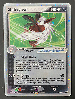 Shiftry ex 97/108 Holo EX Power Keepers Pokemon Card