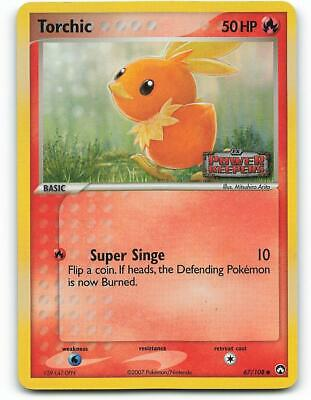 67/108 | Torchic HOLO | EX Power Keepers | Pokemon Card | Good