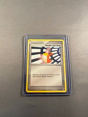 Pokemon Card Trainer Double Full Heal 105/130 Diamond & Pearl in Good Condition!