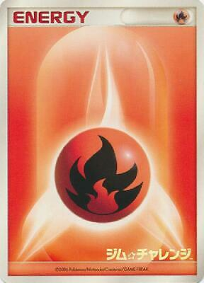 Fire Energy (Japanese) 2006 Promo (Gym Challenge Prize) new Pokemon 3DY