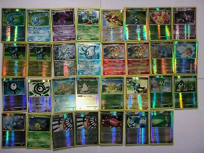 Pokemon Cards Diamond & Pearl Set /130 REVERSE HOLO Shiny - CHOOSE YOURS
