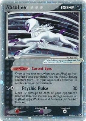 Absol ex - 92/108 - Ultra-Rare NM Power Keepers Pokemon 2B3