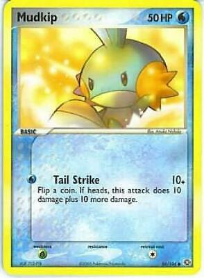 Mudkip - 56/106 - Common NM Ex Emerald Pokemon 2B3
