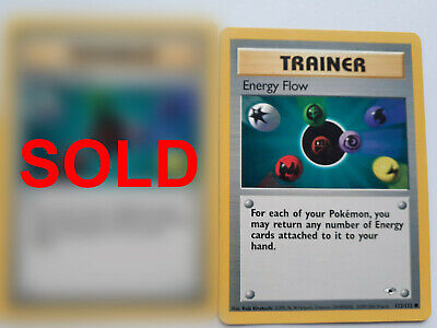 [1 REMAINING] Pokemon || Trainer || Gym Heroes || 122/132 || Energy Flow