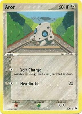 Aron - 48/92 - Common NM Legend Maker Pokemon 2B3