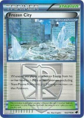 Frozen City - 100/116 - Uncommon NM Black & White 9: Plasma Freeze Pokemon 2B3