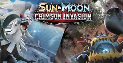 Pokemon cards Crimson Invasion /111 Single cards up to 50% Discount