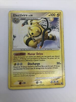 Electivire Non Holo 25/132, Diamond & Pearl Secret Wonders, Condition LP Pokemon