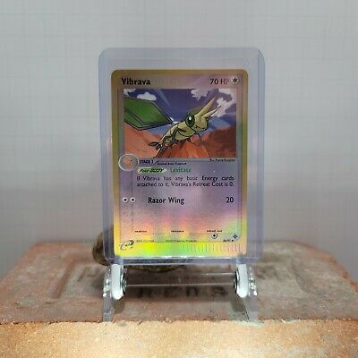 Pokemon Card Vibrava (EX Dragon) 46/97 PLAYED/EXCELLENT Reverse Holo Uncommon!!!