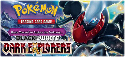 Pokemon cards Dark Explorers /108 Single cards to choose from/ FREE POST