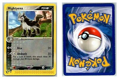 Mightyena 42/109 Ex Ruby & Sapphire Pokemon Card P Condition