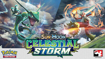 Pokemon cards Celestial Storm /168 Single cards up to 50% Discount