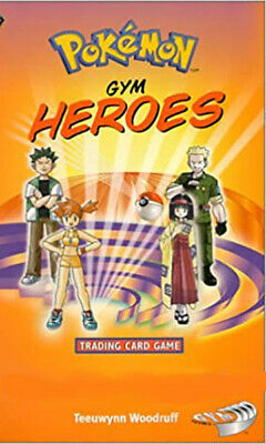 Pokemon cards Gym Heroes /132 Single cards up to 50% Discount