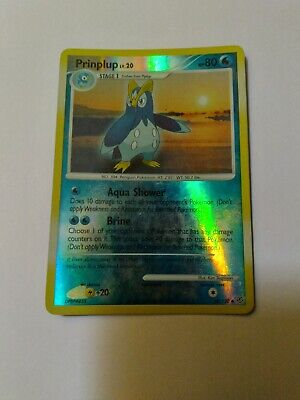 Prinplup - Diamond and Pearl 58/130 - Reverse Holo Pokemon Card - NM