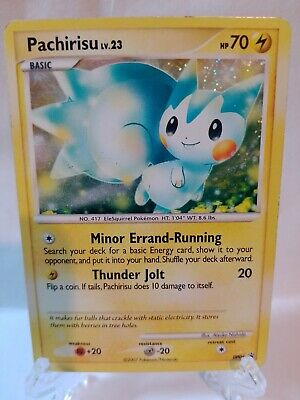 2007 Diamond Pearl Pachirisu DP04 - Holo Black Star Promo Pokemon Card