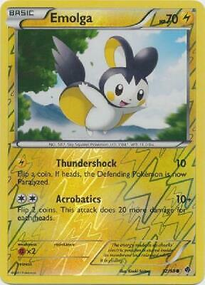 Emolga - 32/98 - Common Reverse Holo Near Mint Emerging Powers Pokemon 2B3
