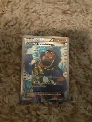 Trainer Archie's Ace in the Hole 157/160 - Primal Clash 2015 POKEMON Card