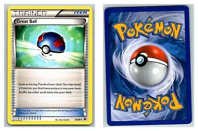 Great Ball 93/98 Emerging Powers Pokemon Card LP condition