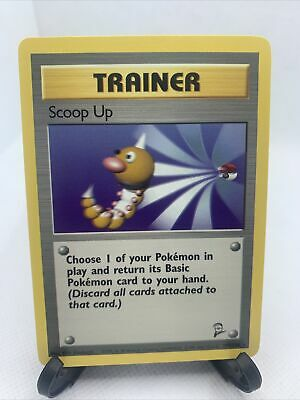 Scoop Up 107/130 - RARE Base Set 2 - Trainer Pokemon Card