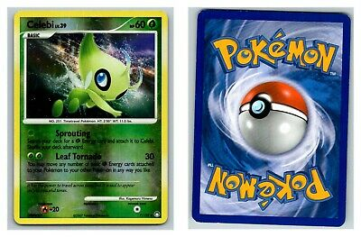 Celebi 7/123 REVERSE HOLO Mysterious Treasures Pokemon Card P-HP Condition
