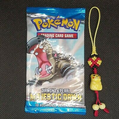 Pokemon Diamond and Pearl Majestic Dawn Hippowdon booster pack sealed
