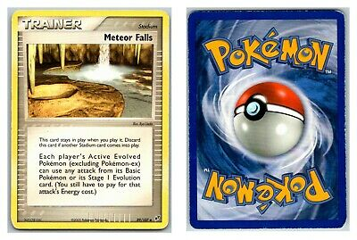 Meteor Falls 89/107 Ex Deoxys Pokemon Card HP Condition