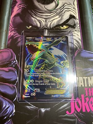 Rayquaza EX 104/108 FULL ART ULTRA RARE Pokemon Roaring Skies Holo NM/Mint