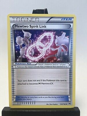 Pokemon Mewtwo Spirit Link 144/162 Breakthrough Uncommon non holo