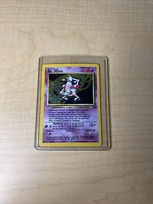 Pokemon Mr. Mime Holo 6/64 Jungle Unlimited