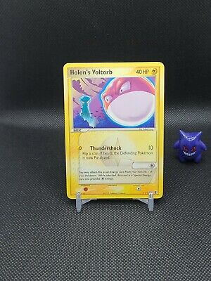 Pokemon - Holon's Voltorb 71/113 Ex Delta Species Light Play See pics
