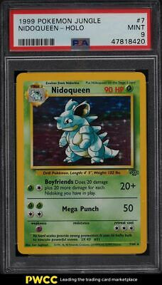 1999 Pokemon Jungle Holo Nidoqueen #7 PSA 9 MINT