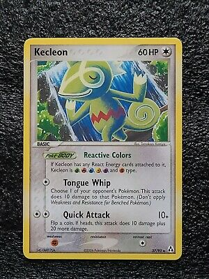 Pokemon Card: Kecleon 37/92 EX Legend Maker Tgc