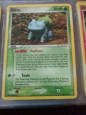 EX Delta Species Various Ditto Forms Pokemon Cards
