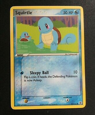 Squirtle 82/112 EX FireRed & LeafGreen Pokemon LP/NM