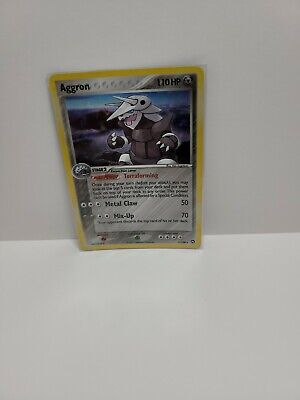 Aggron EX Power Keepers 1/108 Holo 2007 Pokemon Card RARE