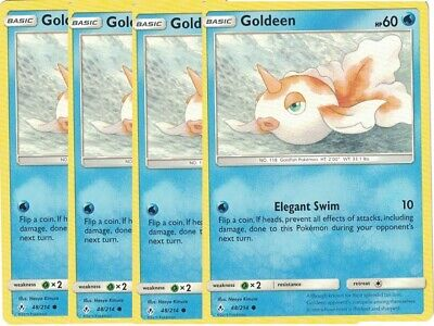 x4	Goldeen	48/214	Common	- Pokemon Unbroken Bonds